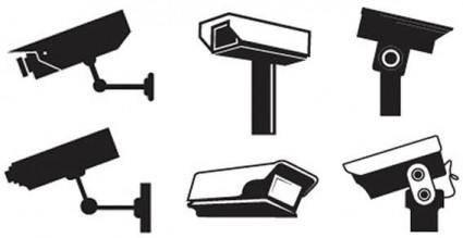 free vector CCTV vectors