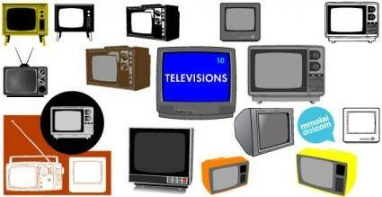 Televisions vector