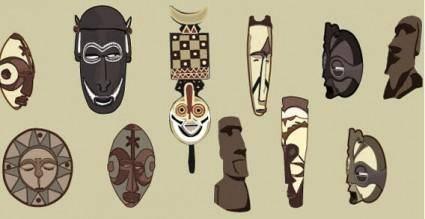 free vector Masks