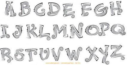 free vector Alphabet vector