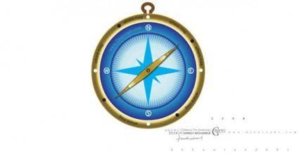 free vector Vector compass