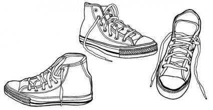 free vector Vector sneakers