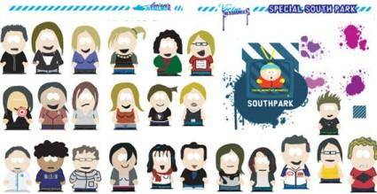 free vector Splats and south park vector