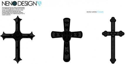 free vector Vector crosses