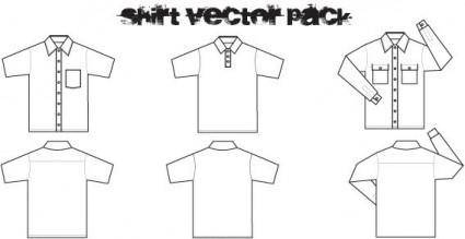 Shirt free vector pack