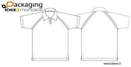 free vector Shirt template vector