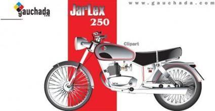 free vector Motor bike vector