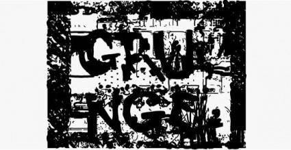 Grunge vector
