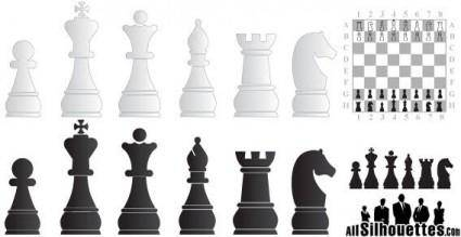 free vector Chess elements
