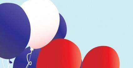 free vector Balloons vector