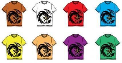 free vector T-shirt design vector