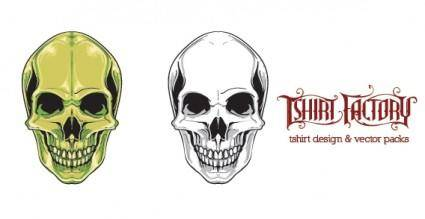 free vector Human Skull Vector