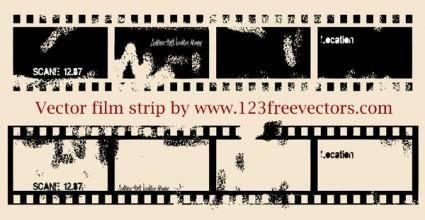 free vector Vector Film Strip