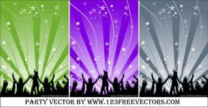 free vector Dance Party vector