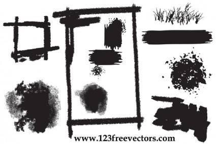 free vector Vector Grunge Elements