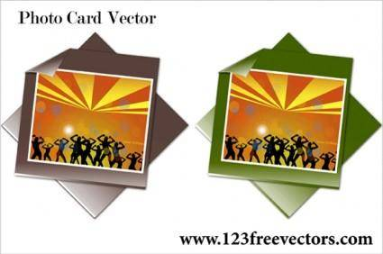 free vector Photo Card Vector