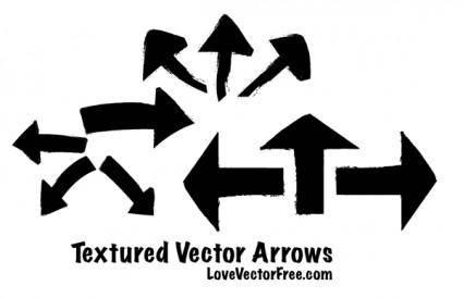 free vector Textured Vector Arrows