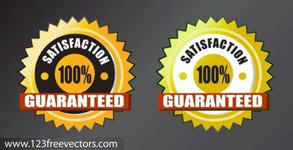 free vector Satisfaction Guarantee Vector