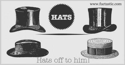 free vector Free Hats Vector