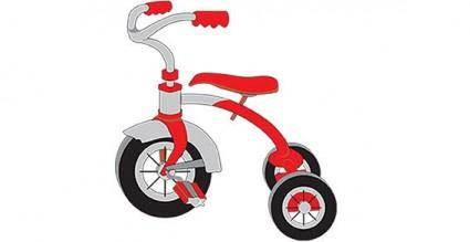 Tricycle vector Graphics
