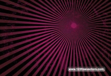 free vector Grunge Sun Burst Free Vector