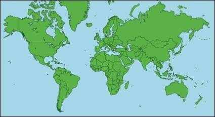 free vector Map of the World Vector