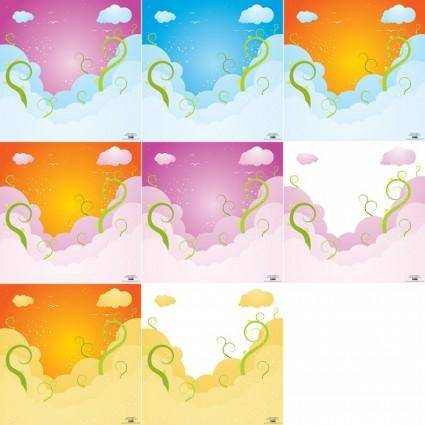 Dreamy Sky Vector