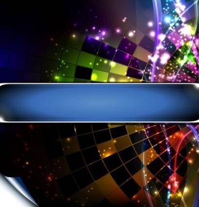 Brilliant lighting effects 04 vector