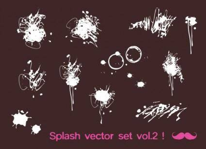 Splash vector set vol.2