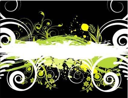 free vector Grunge vector image 05