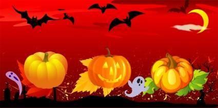 free vector Vector Halloween
