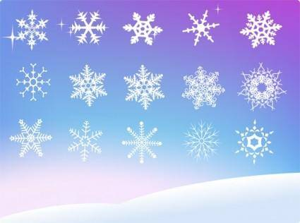 free vector Vector Snowflake