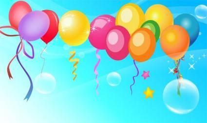 Free Vector Balloon