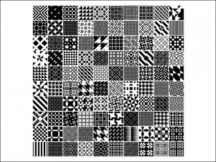 free vector Monochrome Geometric