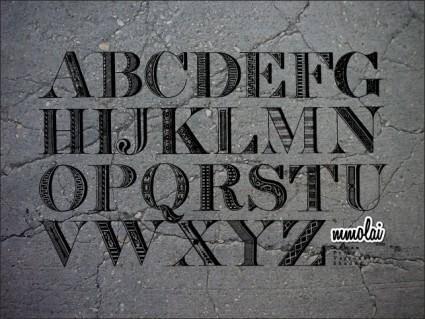 Vector Typeface: RPVS