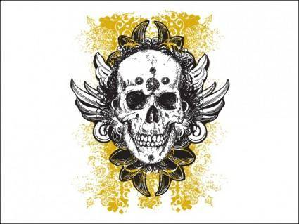 Wicked Vector Skull Illustrations