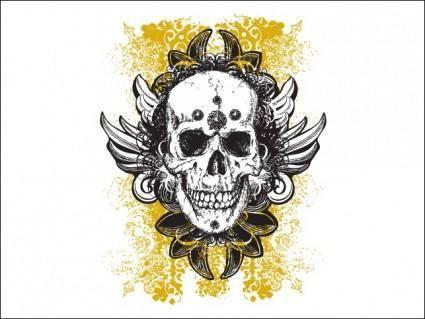 free vector Wicked Vector Skull Illustrations