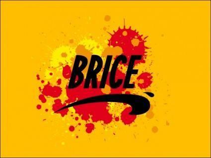 free vector Brice