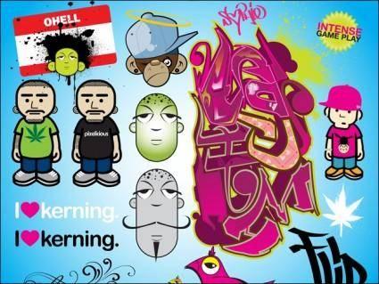 free vector Graffiti Fun Pack