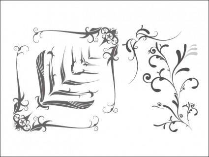 free vector Free Vector Swooshes, and Fancy Corner Designs