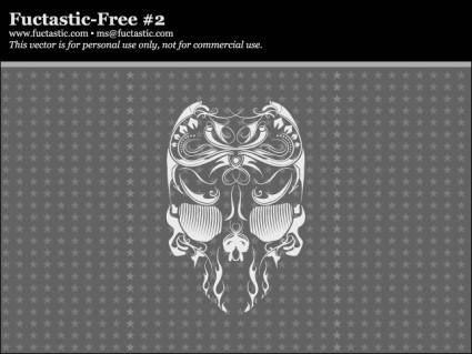 free vector Free Vector Skull