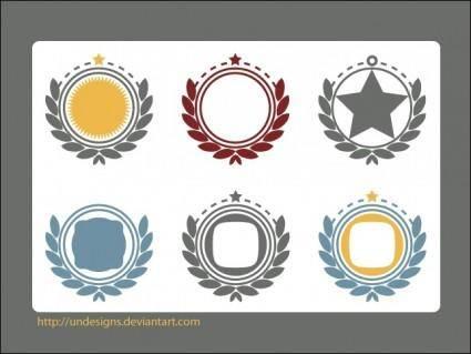 Vector Ornament Frames