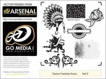 free vector Free GoMedia Vector Pack 9 Sampler