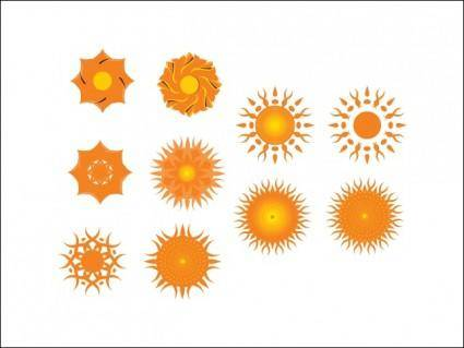 free vector Suns and Other Motifs
