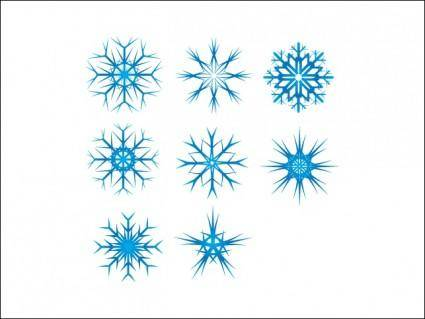 Snow Flake Vectors