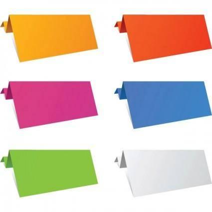 Origami decorative graphics vector 1