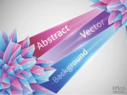 free vector Cool threedimensional graphics vector 1