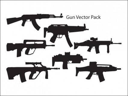 free vector Gun Vector Pack
