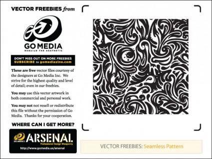 Seamless Swirls Vector Freebies