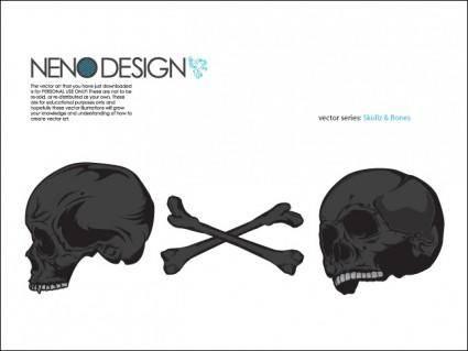 free vector Skullz n' Bones